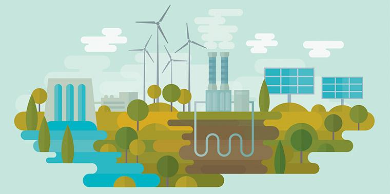 hernieuwbare energie opwekken